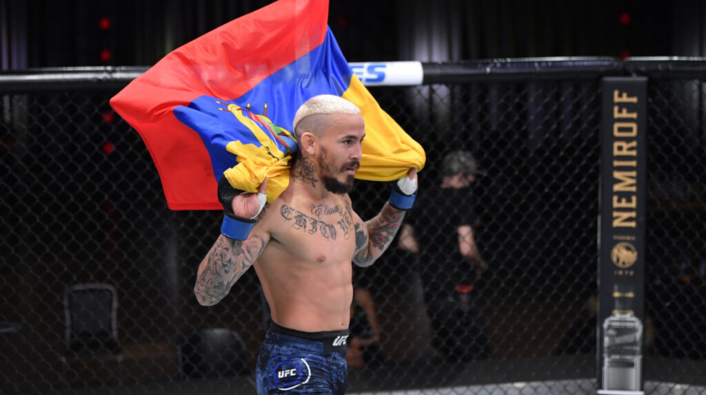 Marlon 'Chito' Vera subió al puesto 14 en el ranking de peso gallo de la UFC
