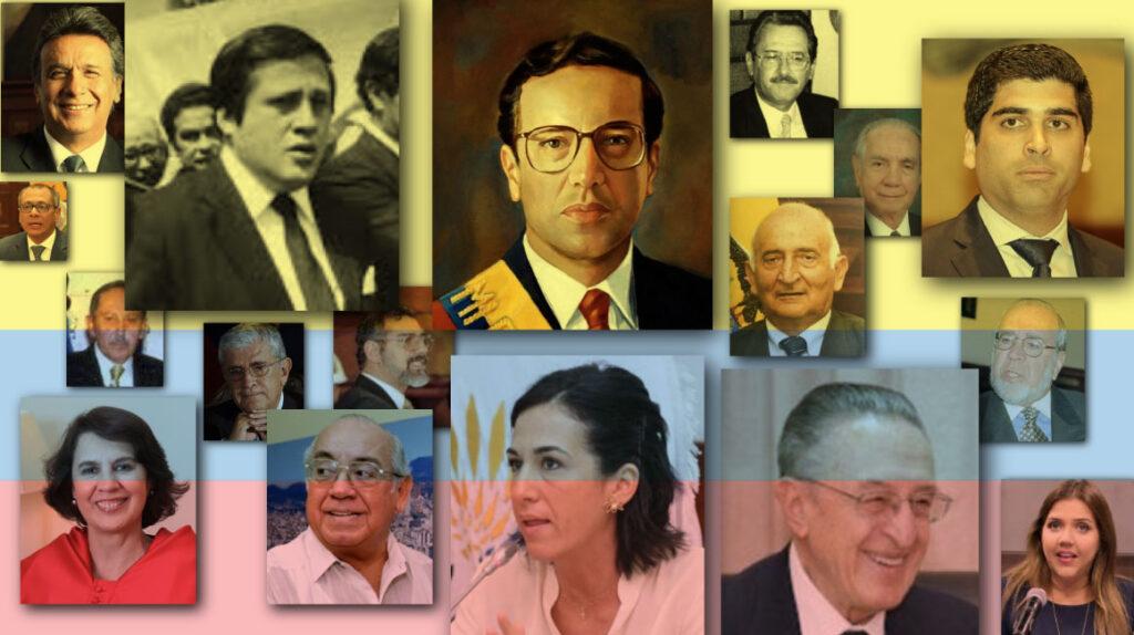 17 Vicepresidentes desde 1979: un cargo limitado y al acecho