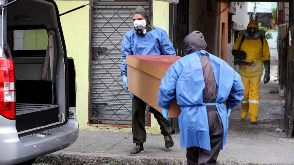 Muerte por Covid-19 en Ecuador sería 2,9 veces mayor a dato oficial: estudio