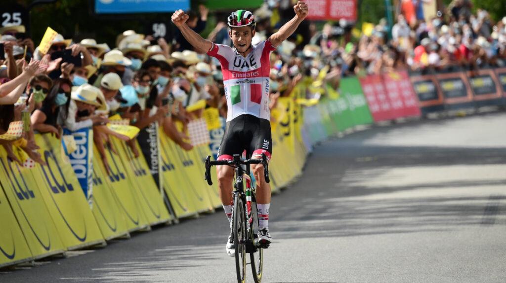El italiano Davide Formolo se llevó la tercera etapa del Dauphiné