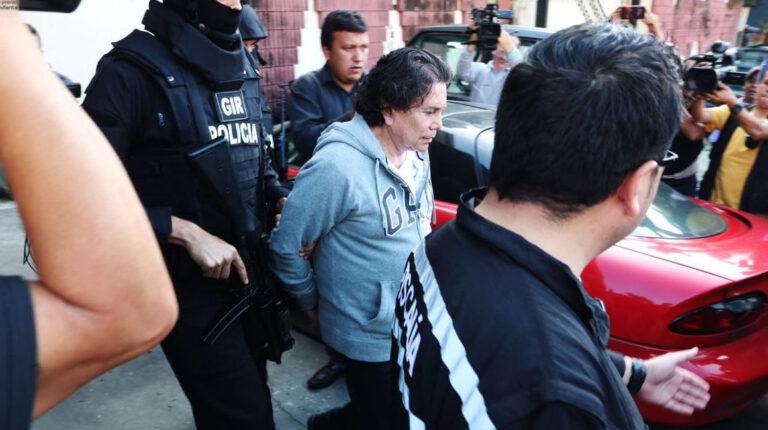 Ricardo Rivera, tío del exvicepresidente Jorge Glas, durante su detención en 2017,