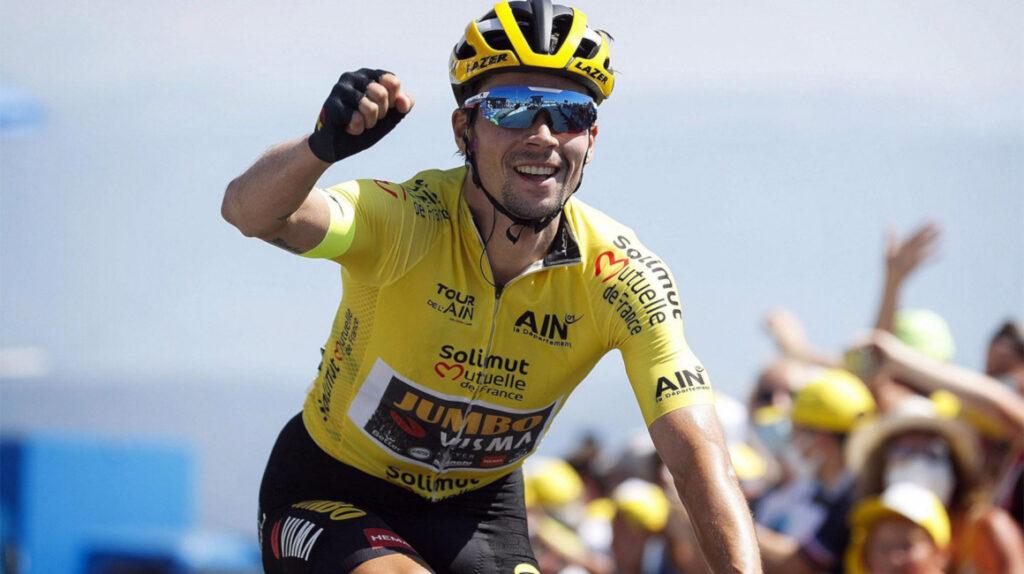 Roglic se impone en el Col de Porte y es nuevo líder del Dauphiné