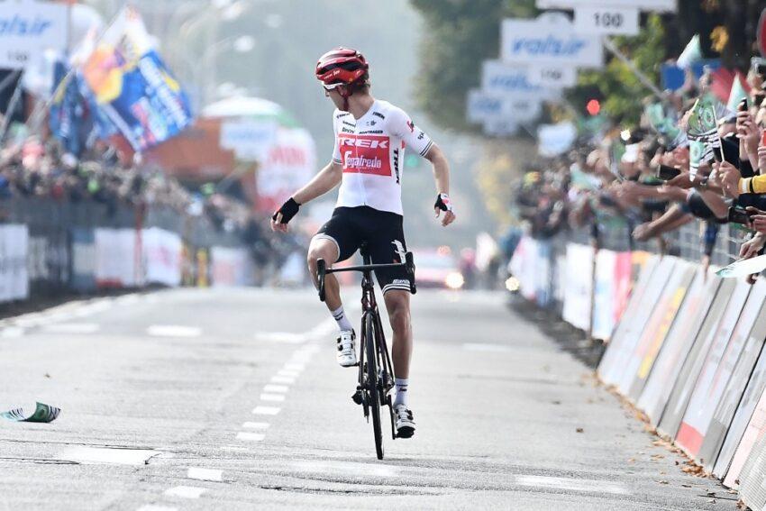 El holandés Bauke Mollema ganó Il Lombardía en 2019.