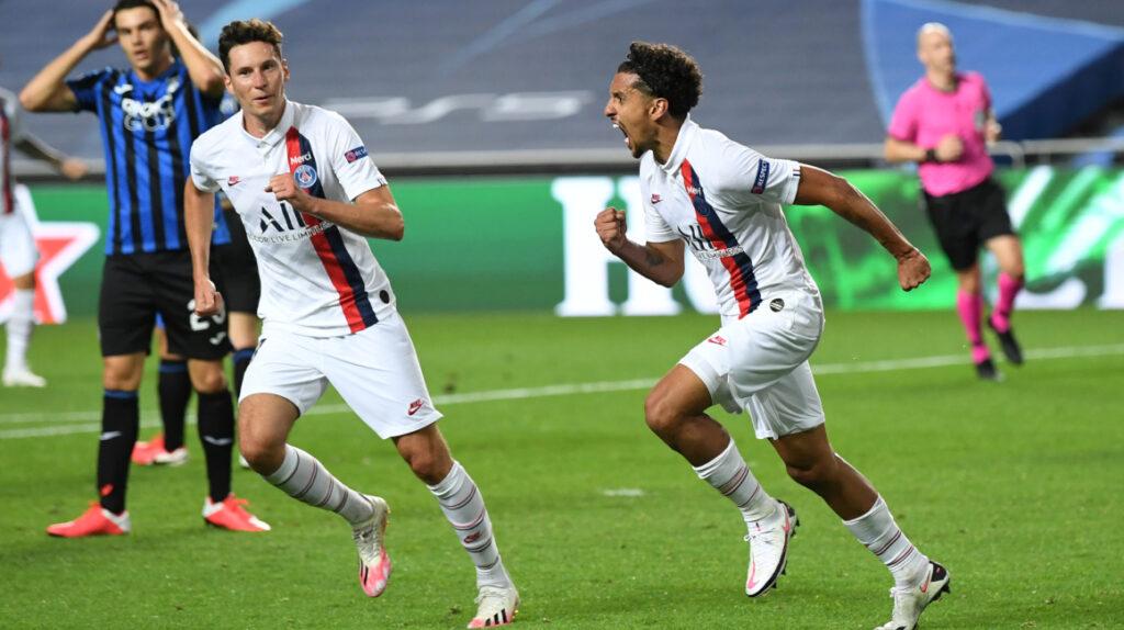 PSG marca dos goles en dos minutos y clasifica a semifinales de la Champions