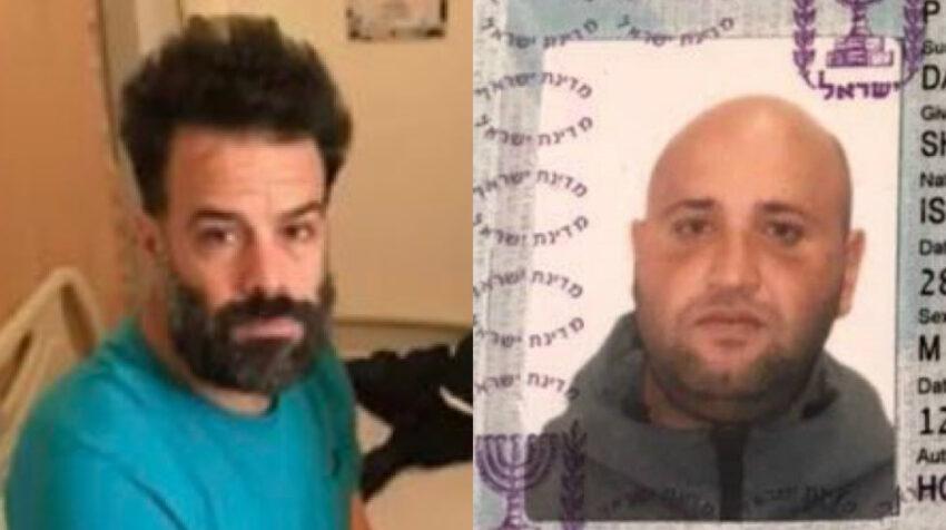 Los extranjeros Oren Sheinman y Shy Dahan (+) fueron detenidos el 3 de junio de 2020.