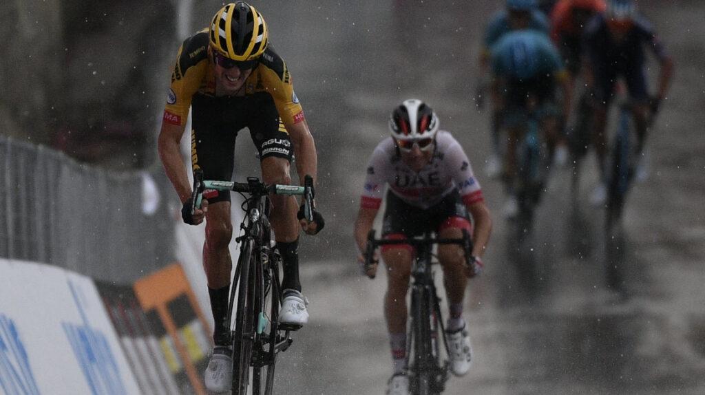 Alexander Cepeda llega en el puesto 36 en la Gran Piemonte, en Italia