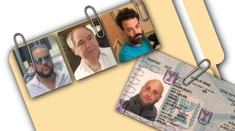 Los israelíes Shy Dahan y Oren Sheinman supuestamente vendieron pruebas de Covid-19 a Jacobo Bucaram.