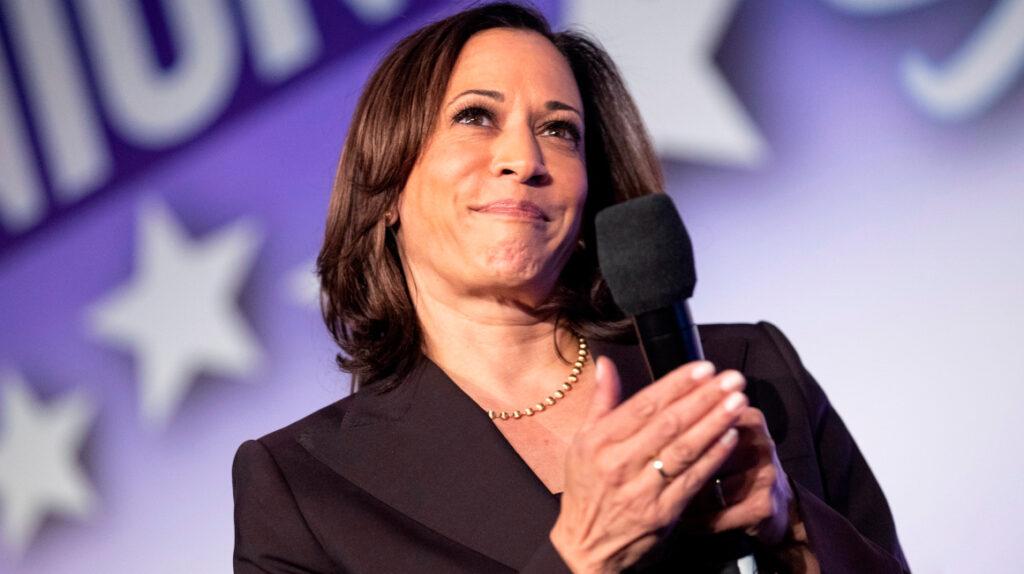 Kamala Harris acepta la nominación demócrata a la vicepresidencia