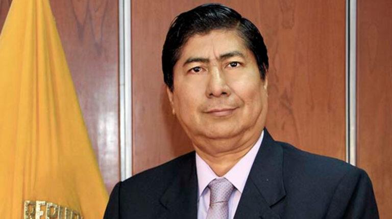 Conjuez temporal de la Corte Nacional, José Layedra.