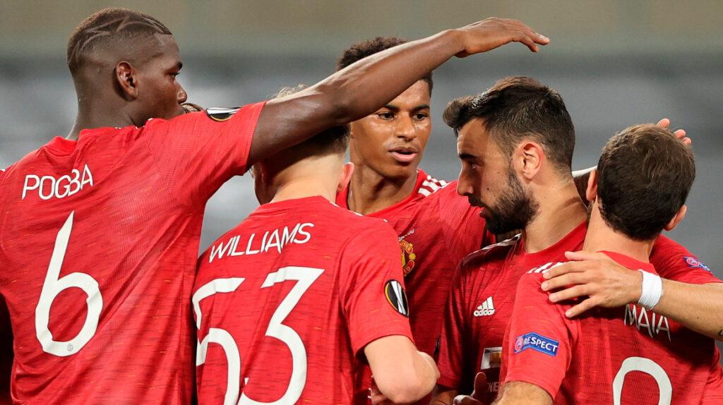 Manchester United pasa a semis de Europa League con un penal agónico