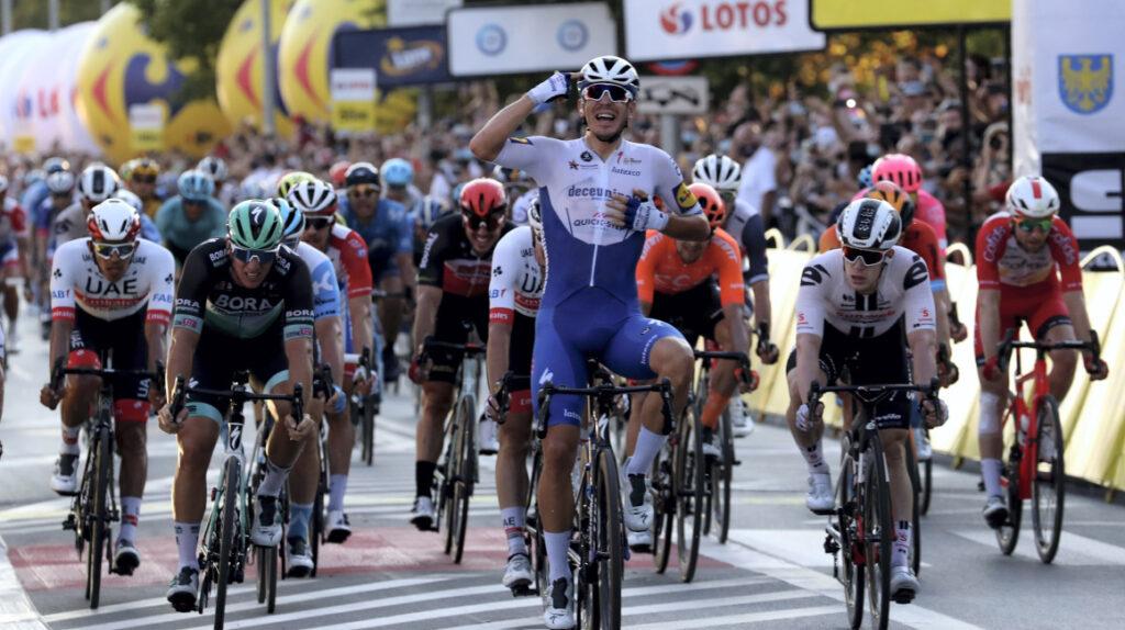 El belga de 20 años, Remco Evenepoel, se quedó con el Tour de Polonia