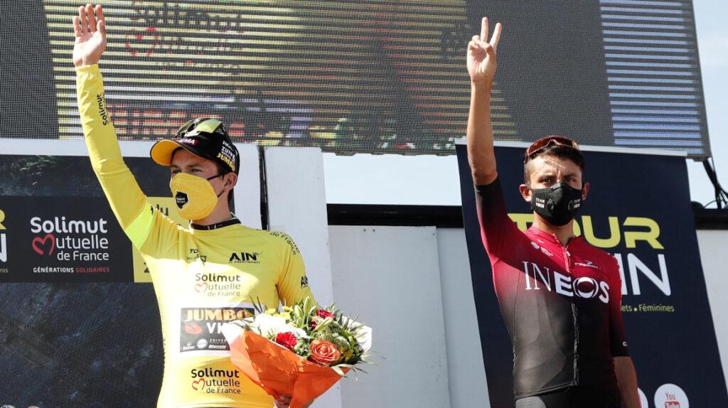 Roglic se quedó con la última etapa y se coronó campeón del Tour de L'Ain