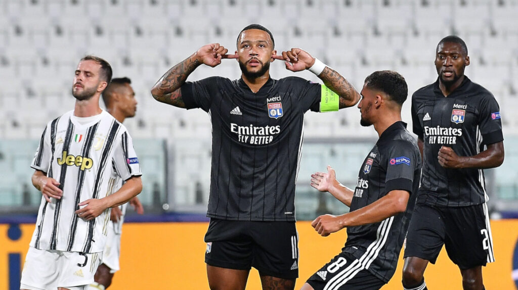 Juventus gana 2 a 1, pero Olympique de Lyon clasifica a cuartos de final