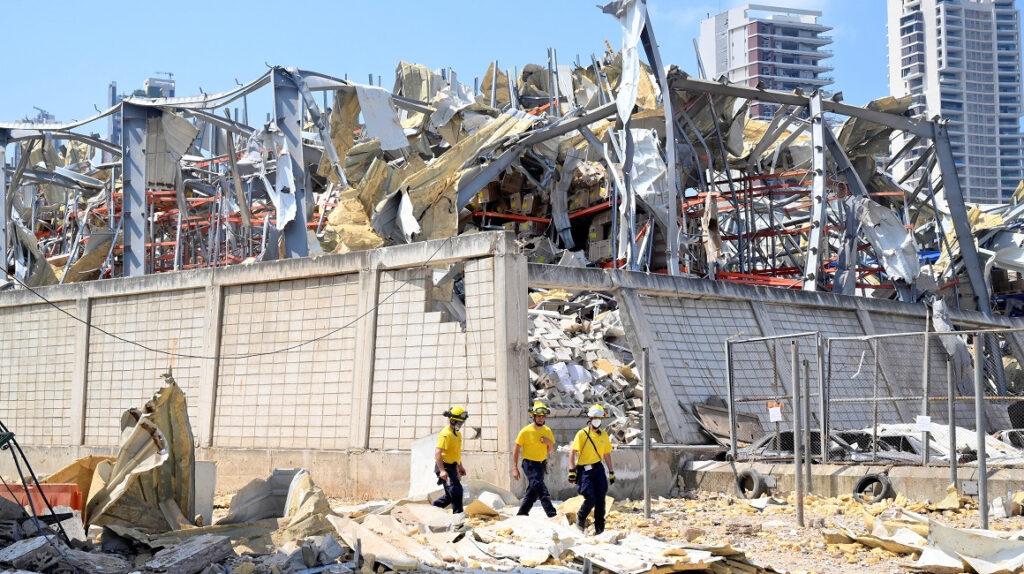 16 personas en arresto domiciliario por explosión en puerto de Líbano