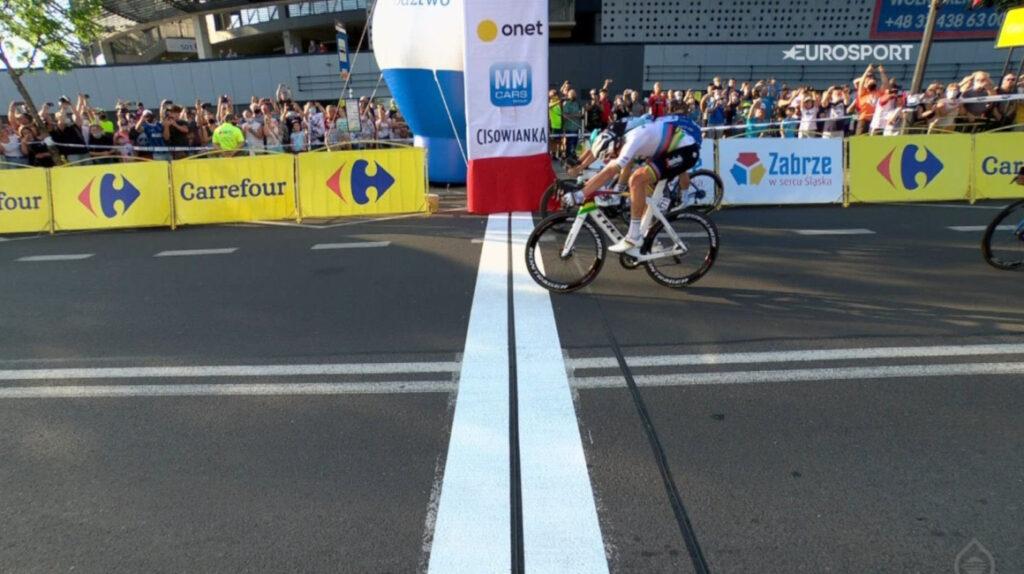 Pedersen gana la segunda etapa del Tour de Polonia y Carapaz sigue en pelea