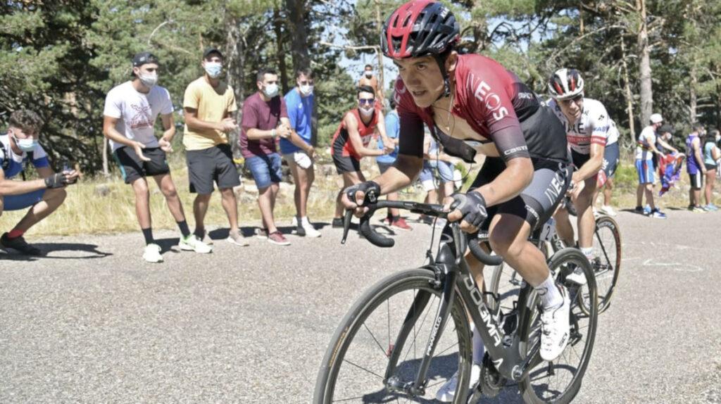 Carapaz termina en sexto lugar en la general de la Vuelta a Burgos