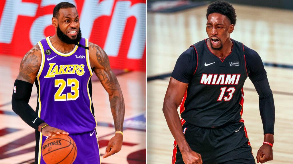 Los Angeles Lakers buscan su título 17 de la NBA frente a Miami Heat