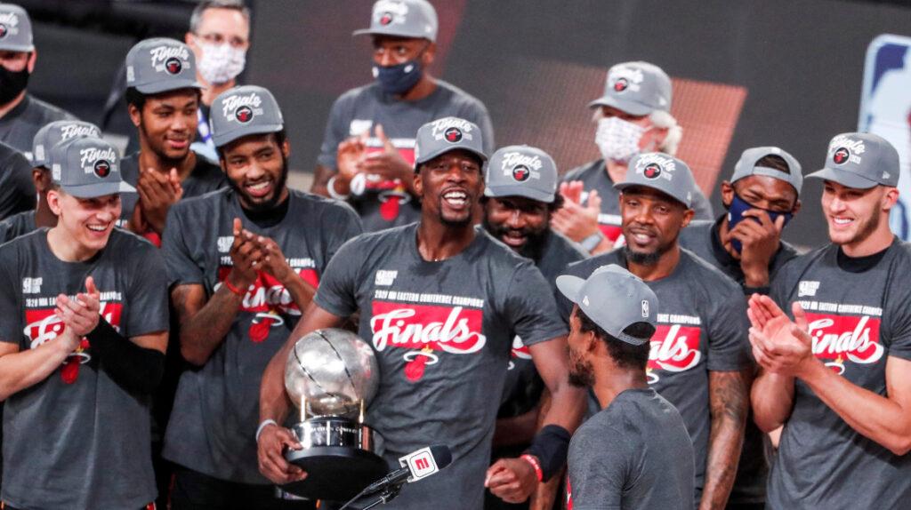 Adebayo, Butler y Herro ponen a Miami Heat en sus sextas finales de la NBA