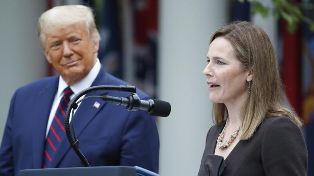 Trump nomina a jueza conservadora para el Tribunal Supremo