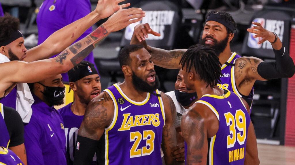 James jugará por décima vez las Finales de la NBA, esta vez con Lakers