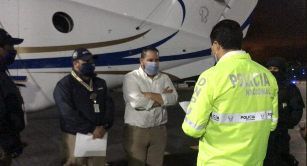 Jacobo Bucaram llega a Quito; será trasladado a cárcel de Latacunga