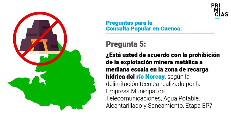Las preguntas de la Consulta Popular en Cuenca