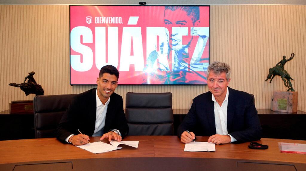 Luis Suárez firma con el Atlético de Madrid por dos temporadas