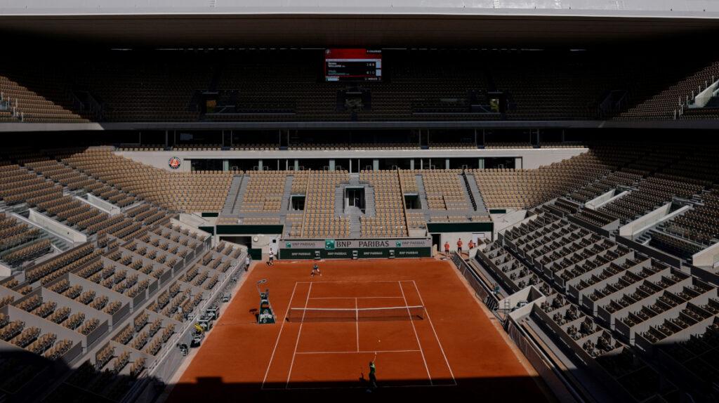 Roland Garros solo podrá recibir 1.000 personas y sorteará las entradas