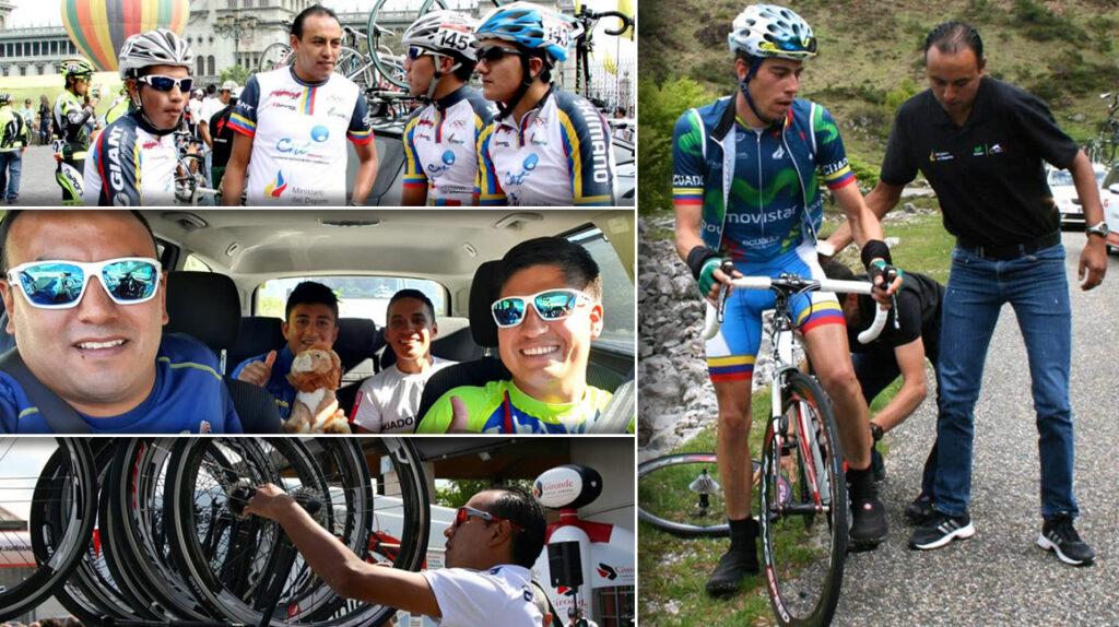 Santiago Rosero dirigirá su tercer Mundial de ciclismo con Ecuador