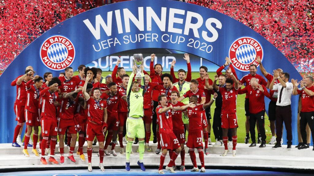 Bayern le gana la Supercopa de Europa a Sevilla ante 15.500 hinchas