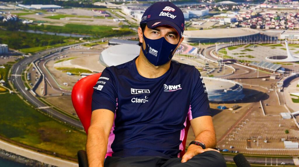 'Checo' Pérez acusa a miembros de Racing Point de esconderle cosas