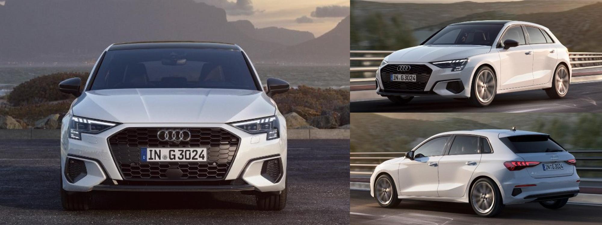Audi lanza al ruedo al A3 Sportback 30 g-tron