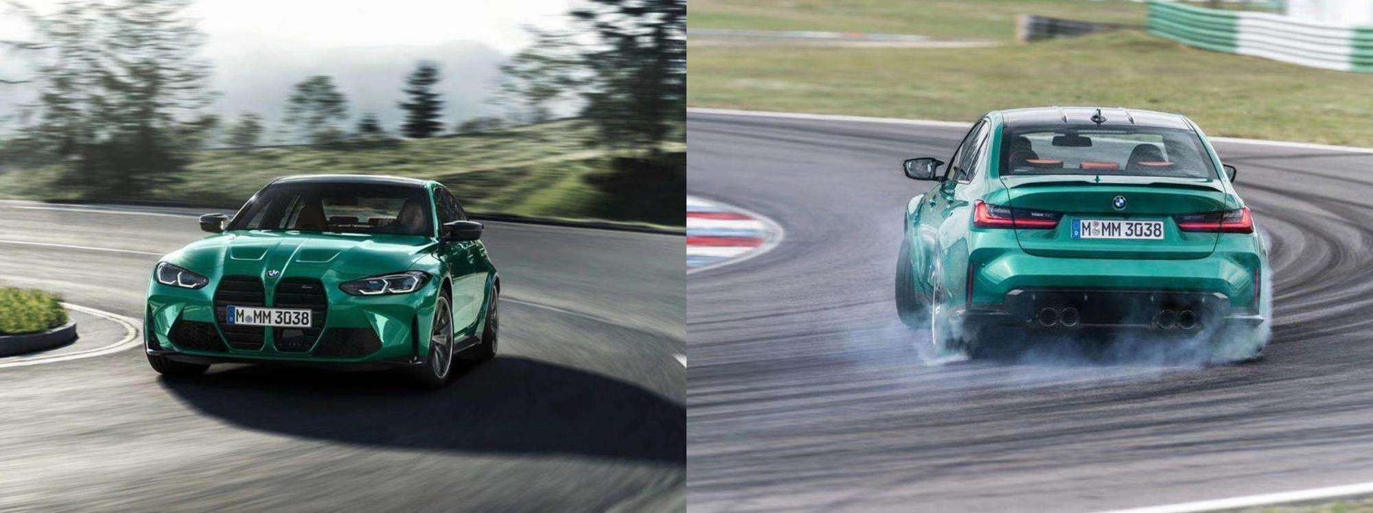 Así son los nuevos BMW M3 y M4