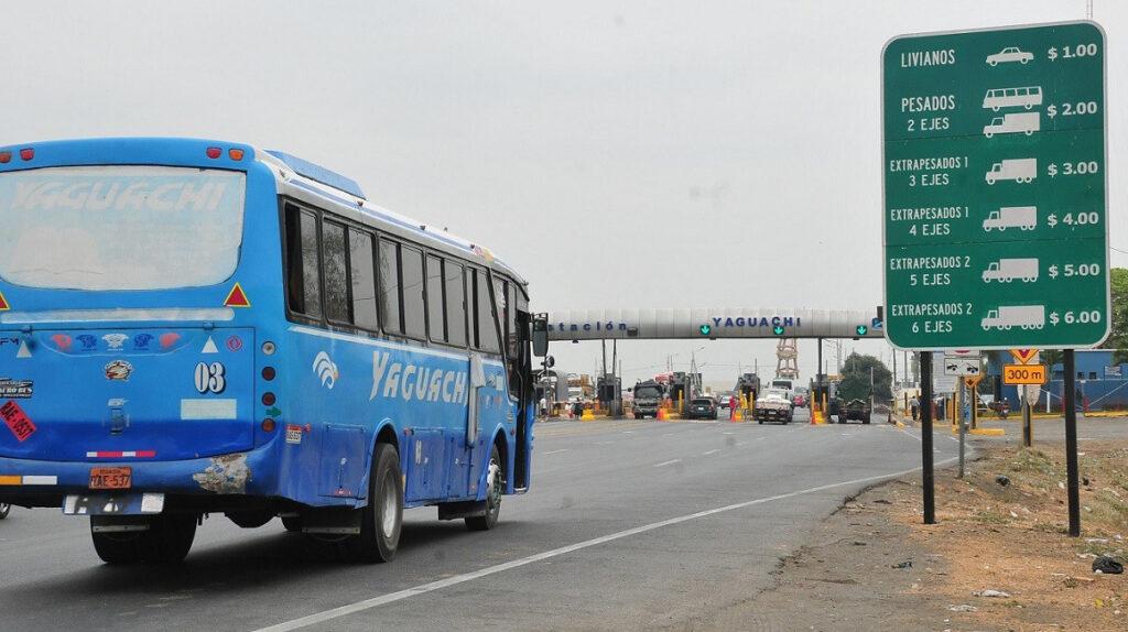 Prefectura del Guayas impone nueva multa a concesionarias viales