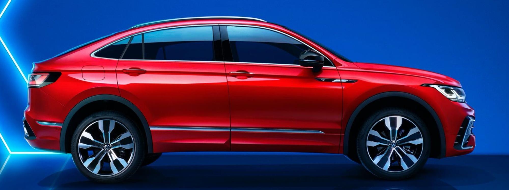 Primeras imágenes oficiales del VW Tiguan coupé