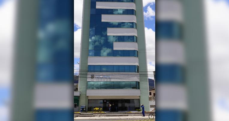El Instituto de Seguridad Social de la Policía Nacional se creó en 1995. Su matriz está en Quito. Esa entidad atiende a 70 mil policías, 50 mil en servicio activo. Foto tomada el 21 de septiembre de 2020.