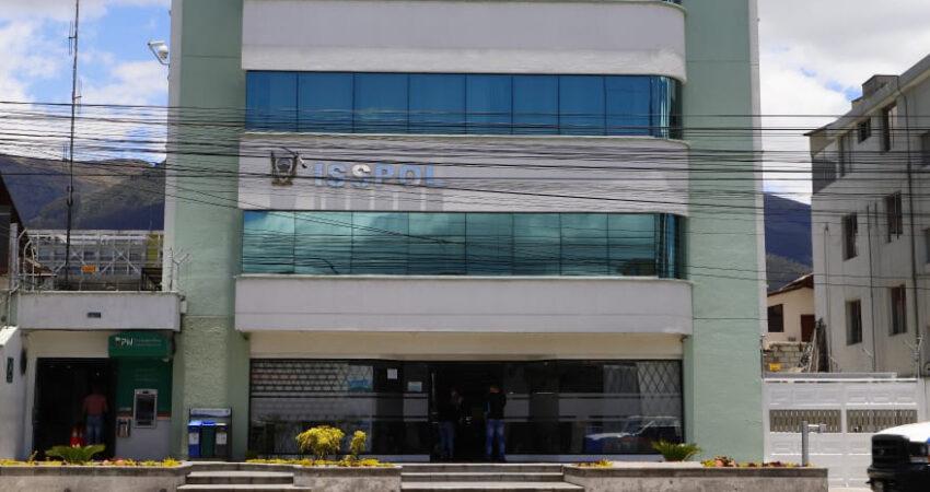 El Isspol se creó en 1995. Su matriz está en Quito. Esa entidad atiende a 70 mil policías, 52 mil en servicio activo. Foto tomada el 21 de septiembre de 2020.