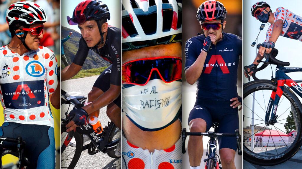 Las mejores postales del primer Tour de Francia de Richard Carapaz
