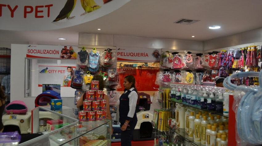 Imagen de una tienda de mascotas en un centro comercial de Guayaquil, el 7 de julio de 2019.