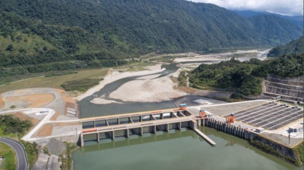 Erosión sigue avanzando hacia la captación de agua de Coca Codo