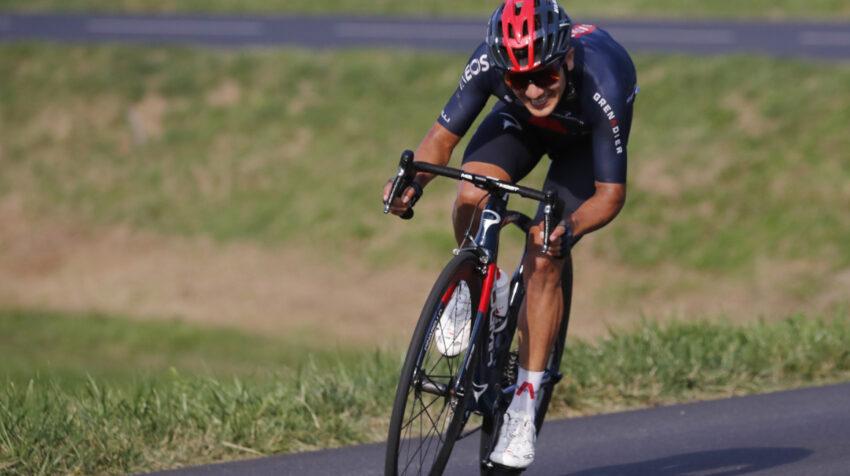 Richard Carapaz terminó en segundo lugar en la Etapa 16 del Tour de Francia, el martes 15 de septiembre de 2020.