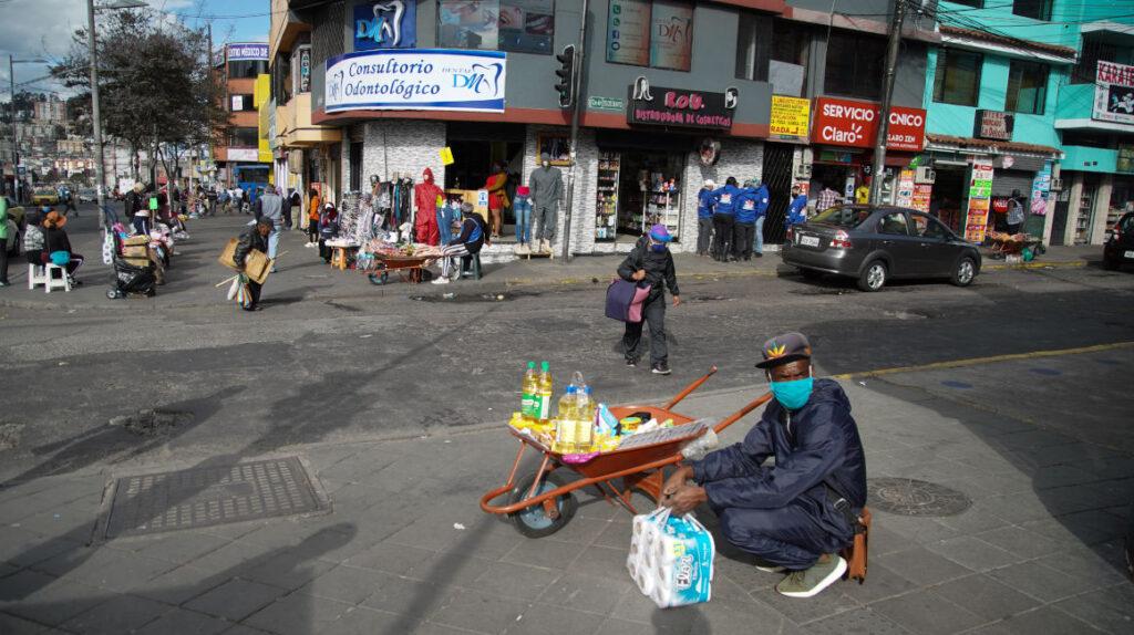 Quito: tres indicadores muestran impacto de la pandemia en la economía