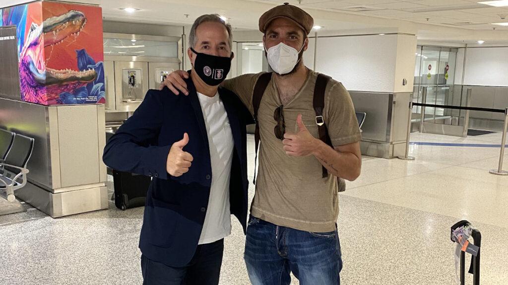 Gonzalo Higuaín será nuevo jugador del Inter Miami FC hasta 2022