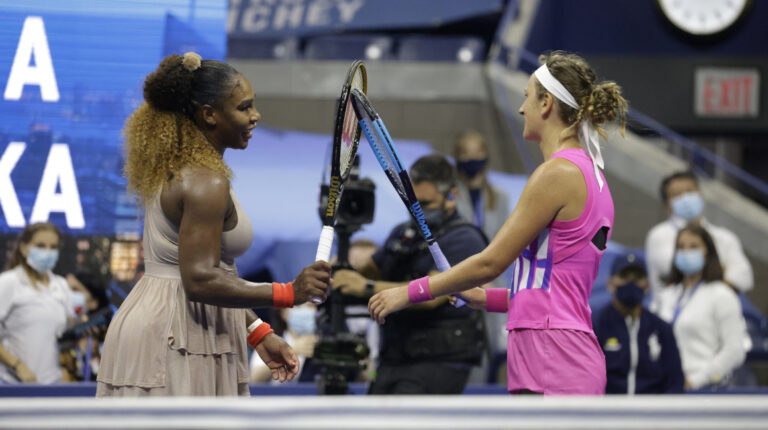 Victoria Azarenka venció a Serena Williams, el 10 de septiembre de 2020, y se clasificó para jugar la final del US Open.
