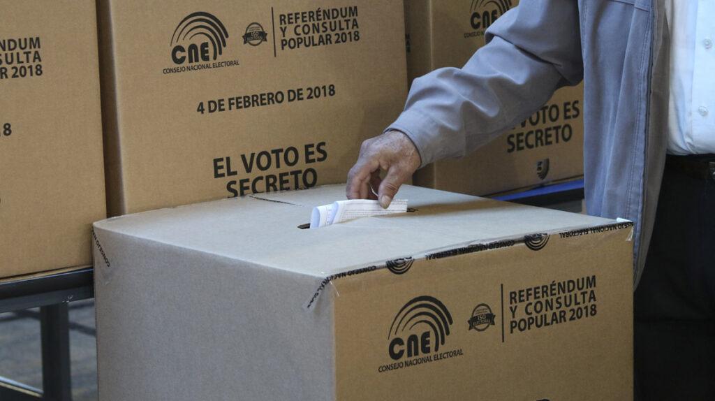 El CNE destinará USD 1,2 millones para incentivar el voto