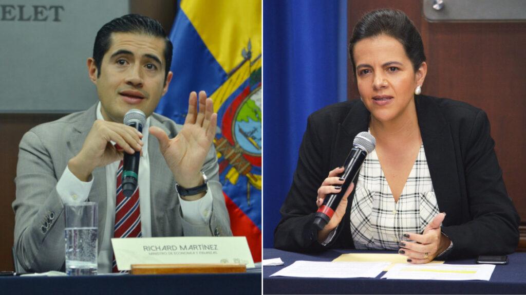 Romo y Martínez, los ministros menos queridos en la Asamblea