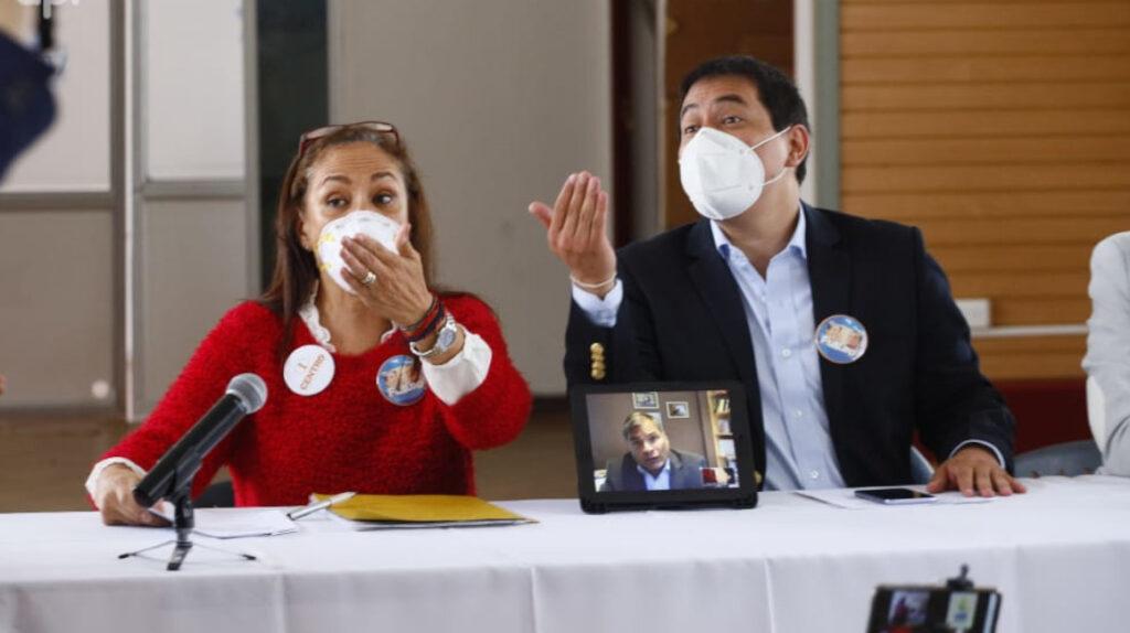 """El correísmo llegó con un candidato """"virtual"""" hasta el CNE"""