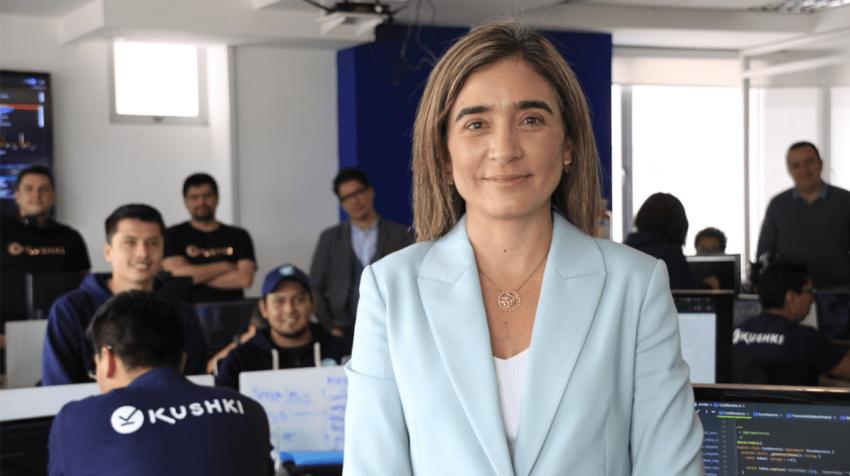 Daniela Espinosa, cofundadora de Kushki y presidenta de la CITEC.