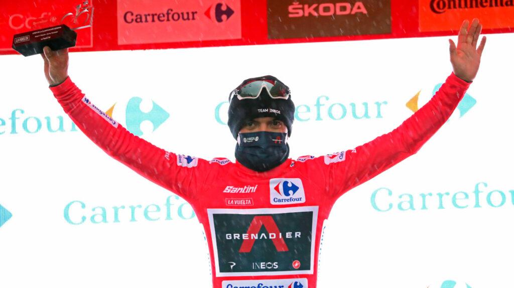 Enorme etapa de Richard Carapaz y es el nuevo líder de la Vuelta a España