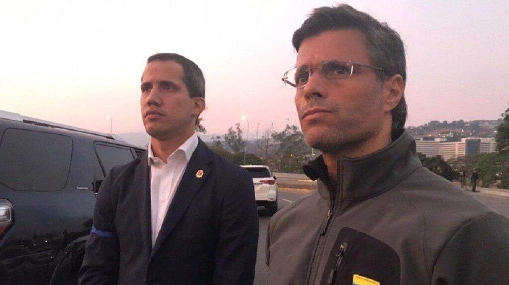 Leopoldo López deja residencia del embajador de España en Caracas